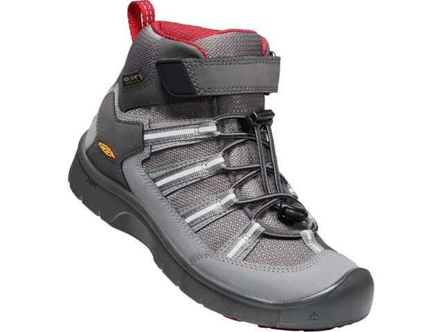 Keen Hikeport 2 Sport Mid WP Chaussures Adolescents, magnet/chili pepper